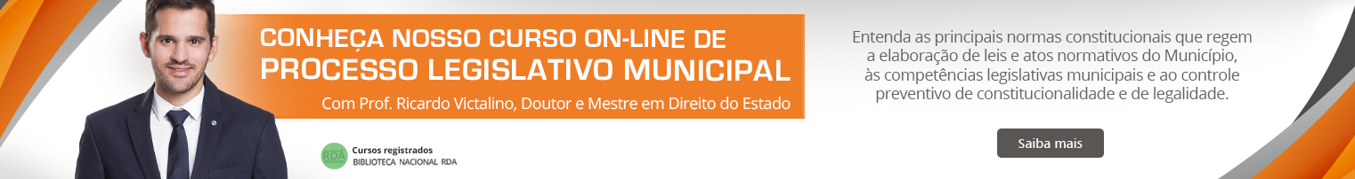 EAD Processo Legislativo Municipal