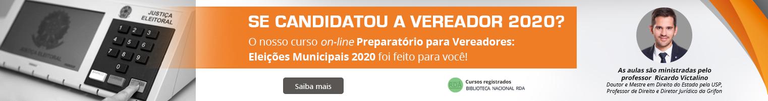 EAD Grifon - Preparatório para Vereadores: Eleições Municipais 2020